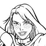 Miss Martian - YJ GIF