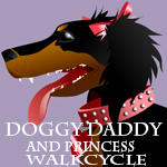 The Devoted Doggy Daddy Walkcycle