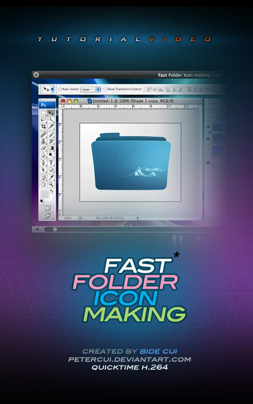 Tutorial_Make Folder Icon Fast by petercui