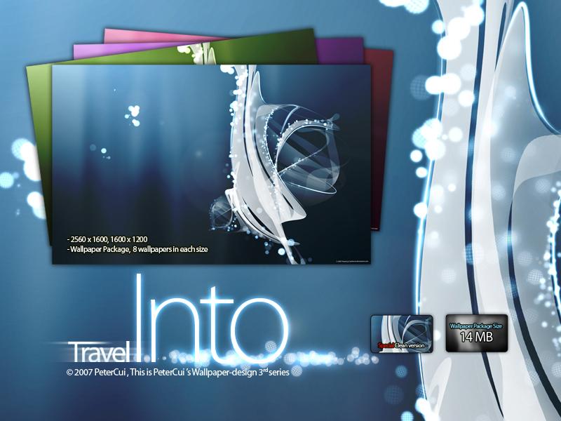 Travel into, Line wallpaper 3