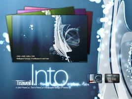 Travel into, Line wallpaper 3 by petercui