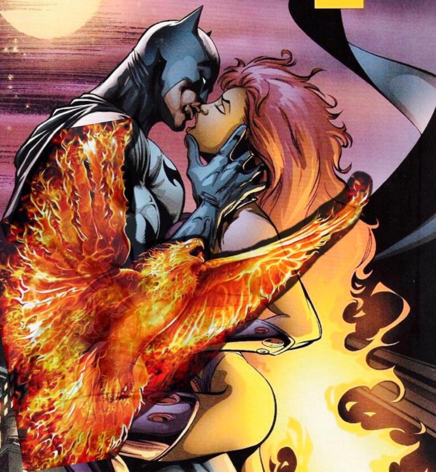Nightwing and starfire