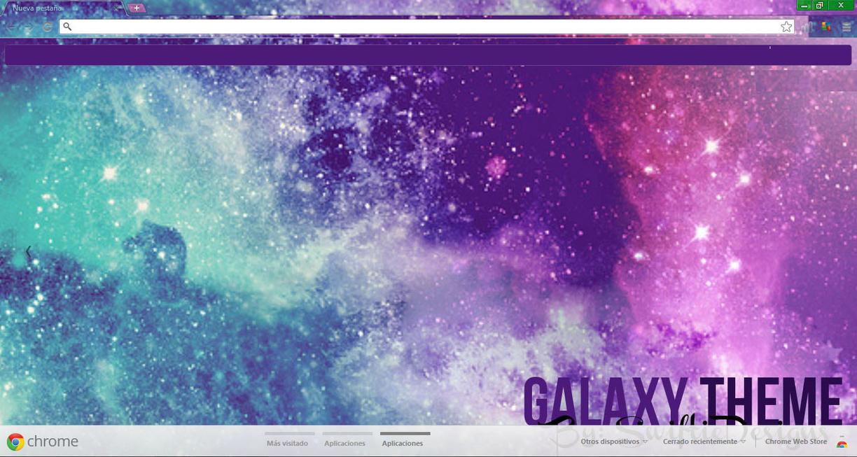 Google chrome themes universe - Galaxy Theme Para Google Chrome