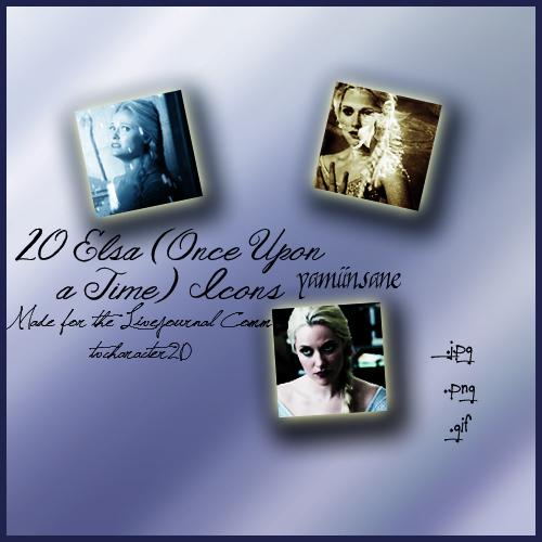 20 Elsa Icons by yamiinsane