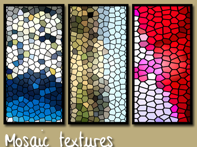 Mosaic textures by fullmind79