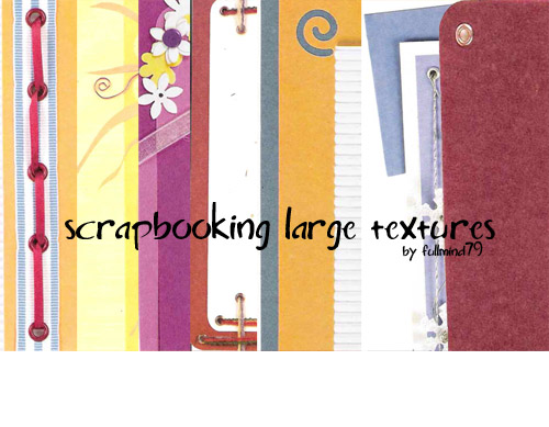 Textures 6: Scrapbooking by fullmind79
