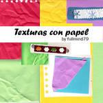 Textures 7: Texturas con papel