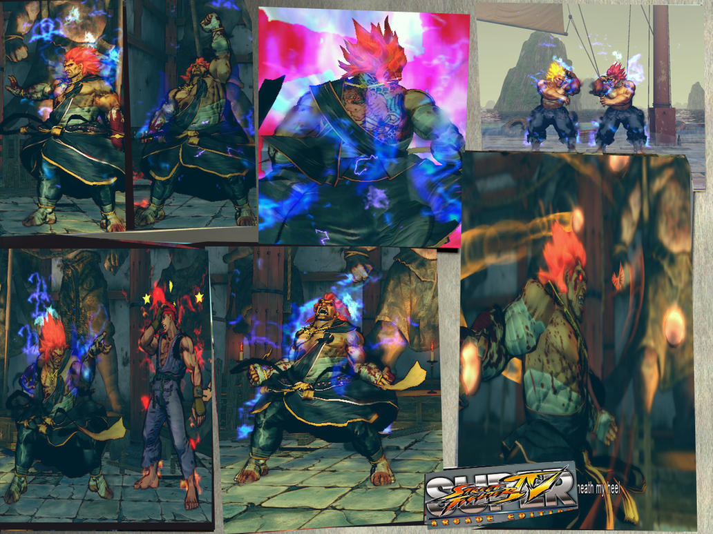 Bloody Oni Akuma by monkeygigabuster