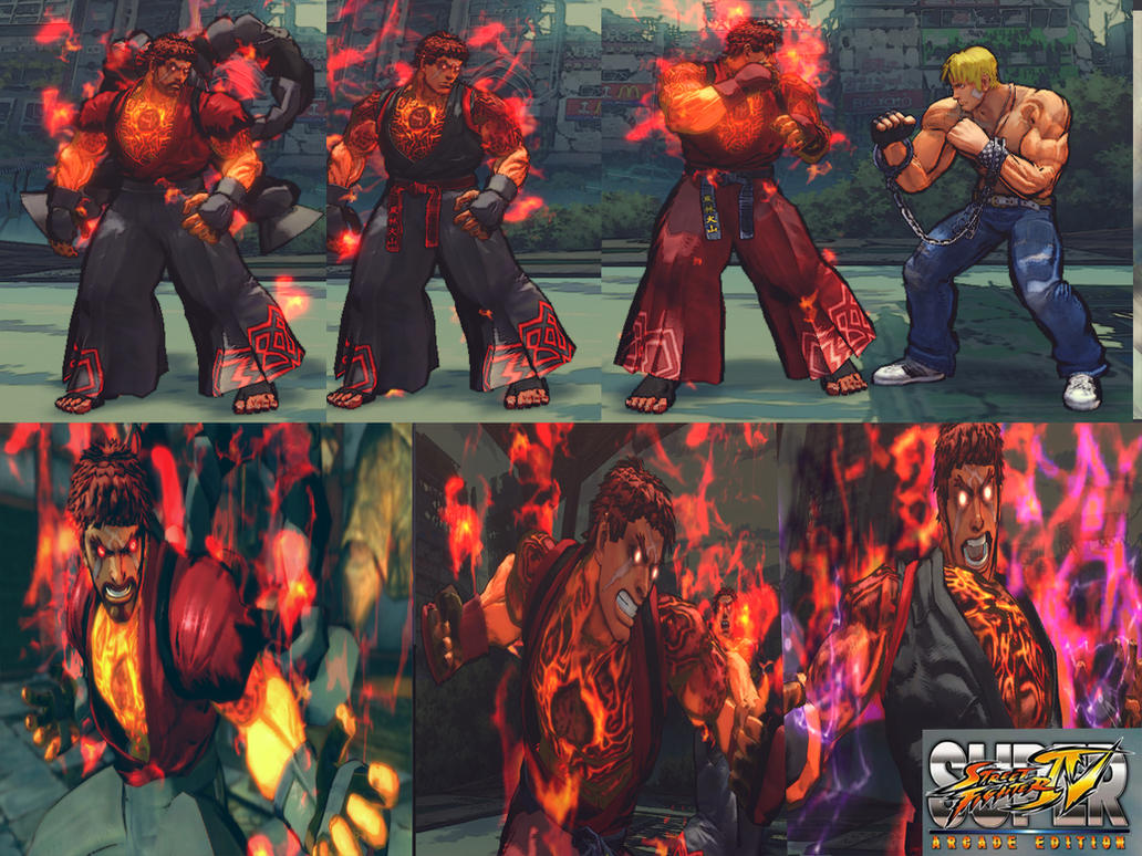 Ultra Evil Ryu pack by...