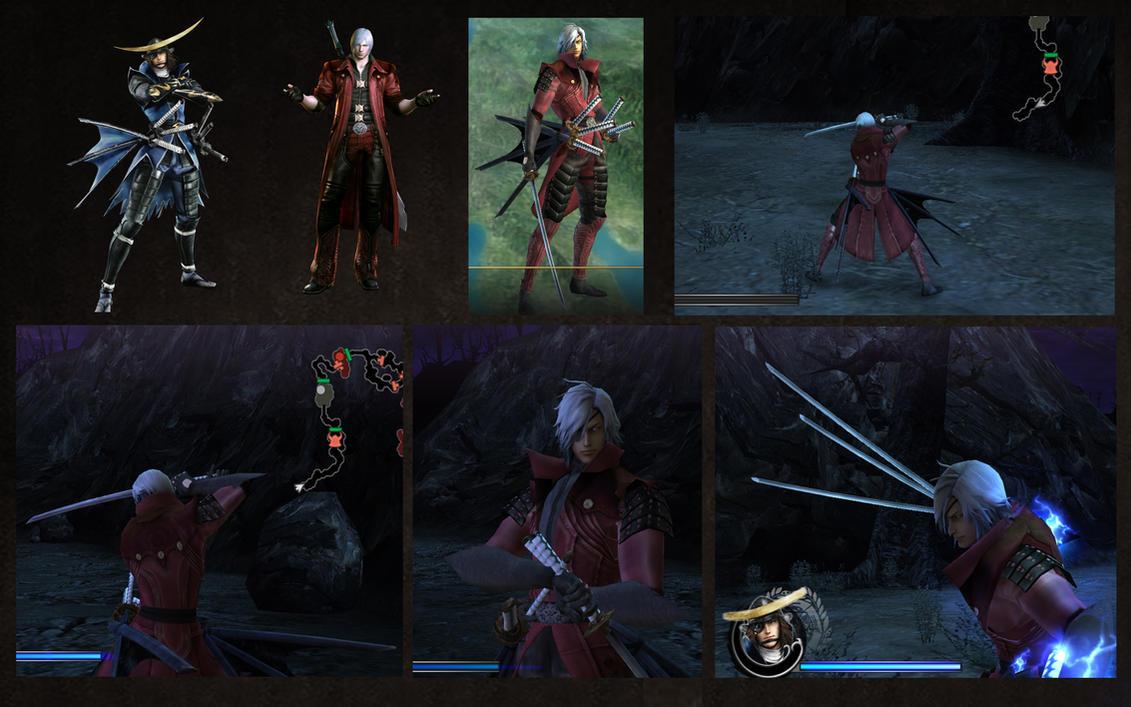 Masamune Date as Dante DMC4 by monkeygigabuster
