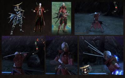 Masamune Date as Dante DMC4
