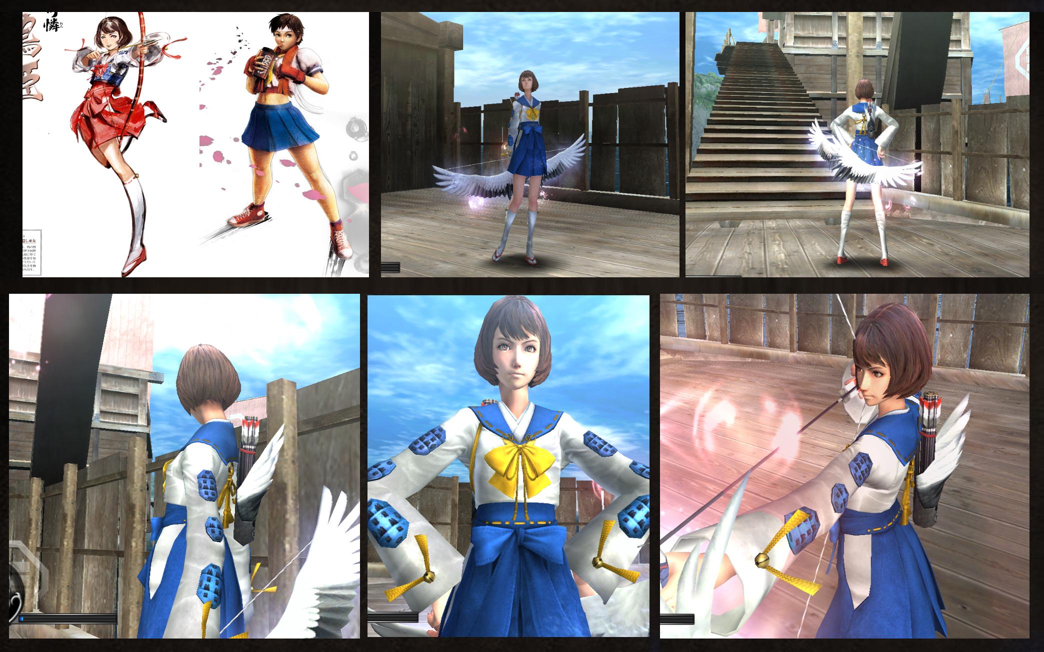 Trajes un tanto diferentes para los juegos de SB [Wii] Sb3_utage_tsurhime_with_sakura_costume_by_monkeygigabuster-d4rt3uo
