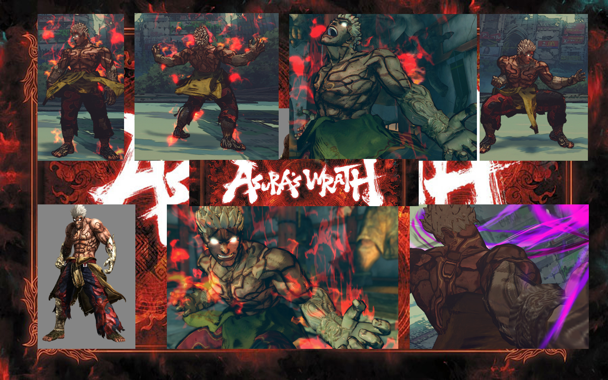 Evil Ryu Asura's wrath vol 2 (OUTDATED) by monkeygigabuster