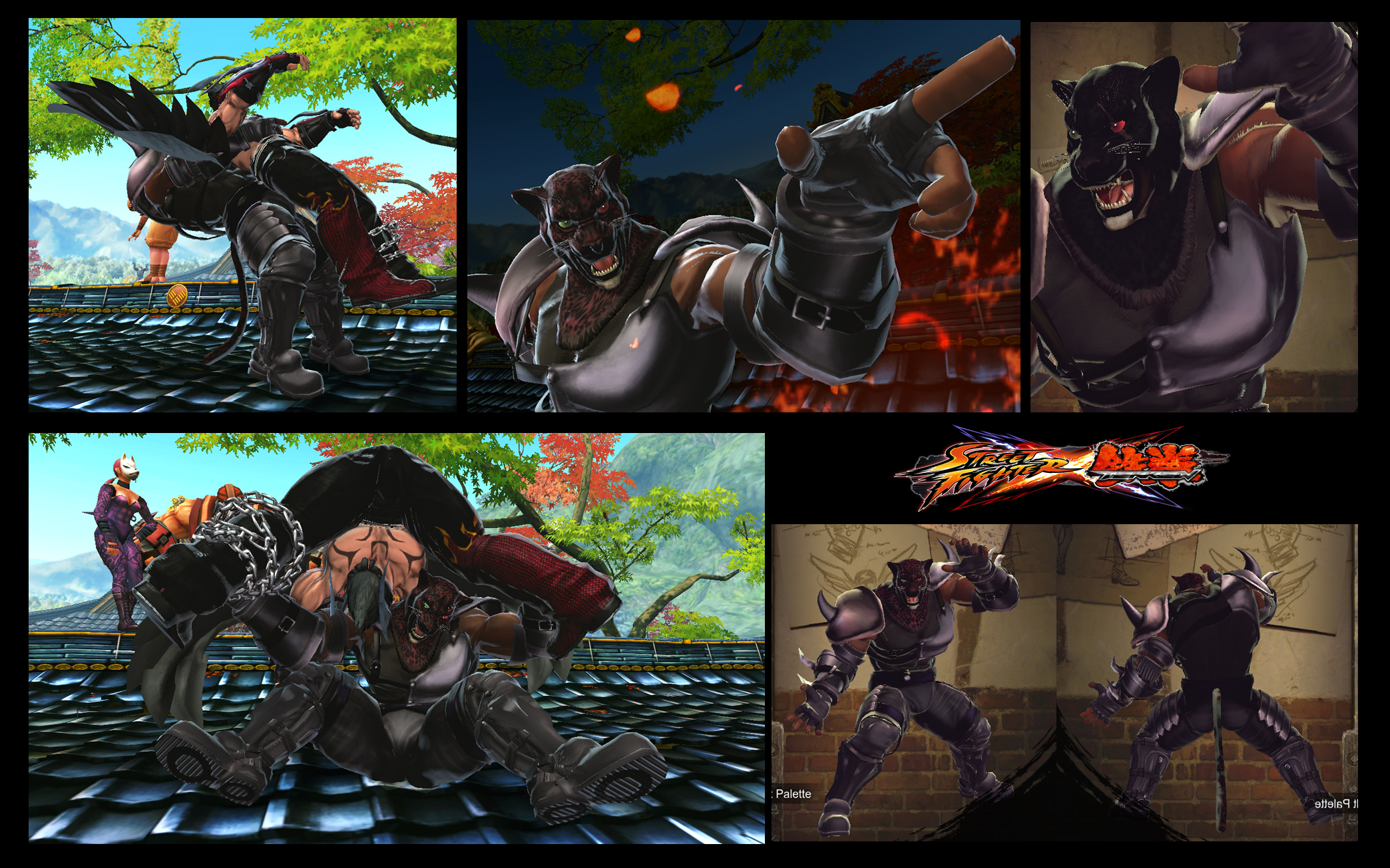 SF X TEKKEN King as Armor King true inspiration v2 by