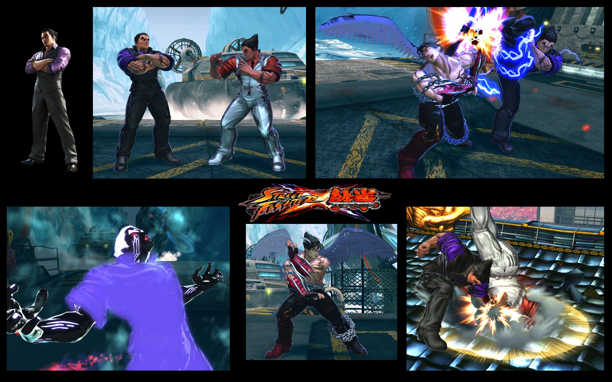 transformation tekken blood vengeance jin