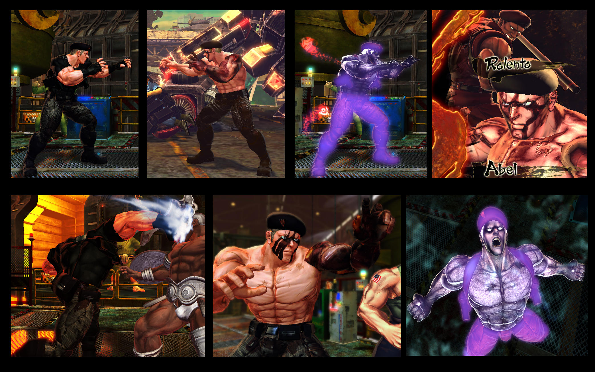 SF X TEKKEN Abel Krauser vol 2 by monkeygigabuster
