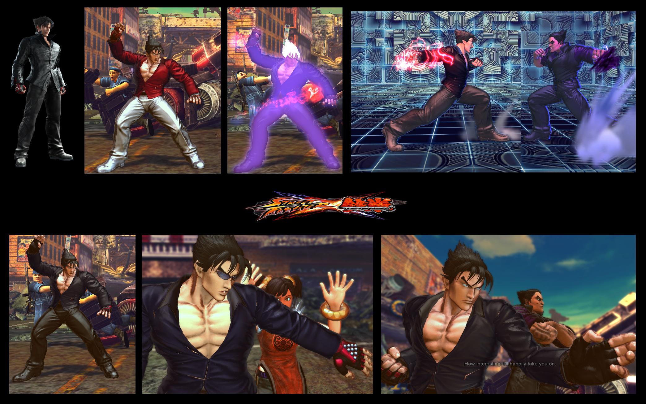 Sf X Tekken Jin From Blood Vengeance Inspiration By Monkeygigabuster On Deviantart