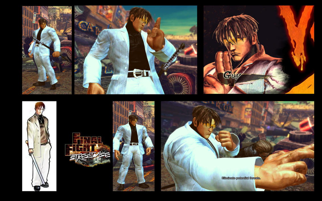 SF X TEKKEN Yakuza Guy from FFSW by monkeygigabuster