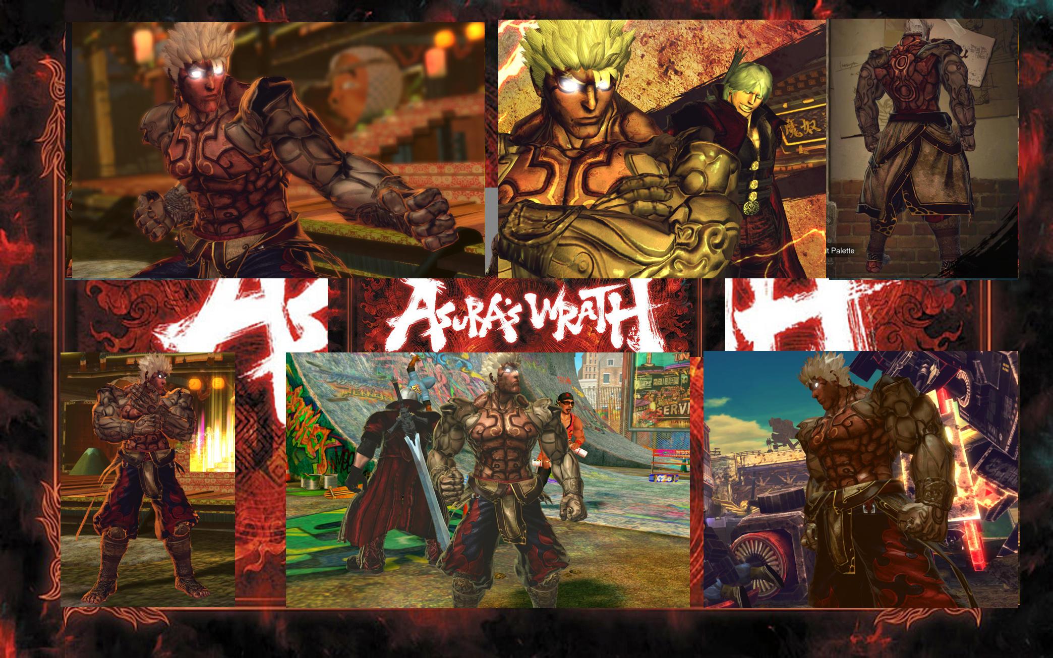 SF X TEKKEN Ryu Asura Wrath Vol 3 by monkeygigabuster