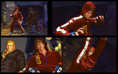 Street Fighter X Tekken Hwoarang as Slim Bob