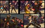 SF X Tekken Ibuki as Rebecca Chambers