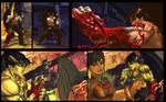 SF X TEKKEN Jin as Devil Jin vol 4