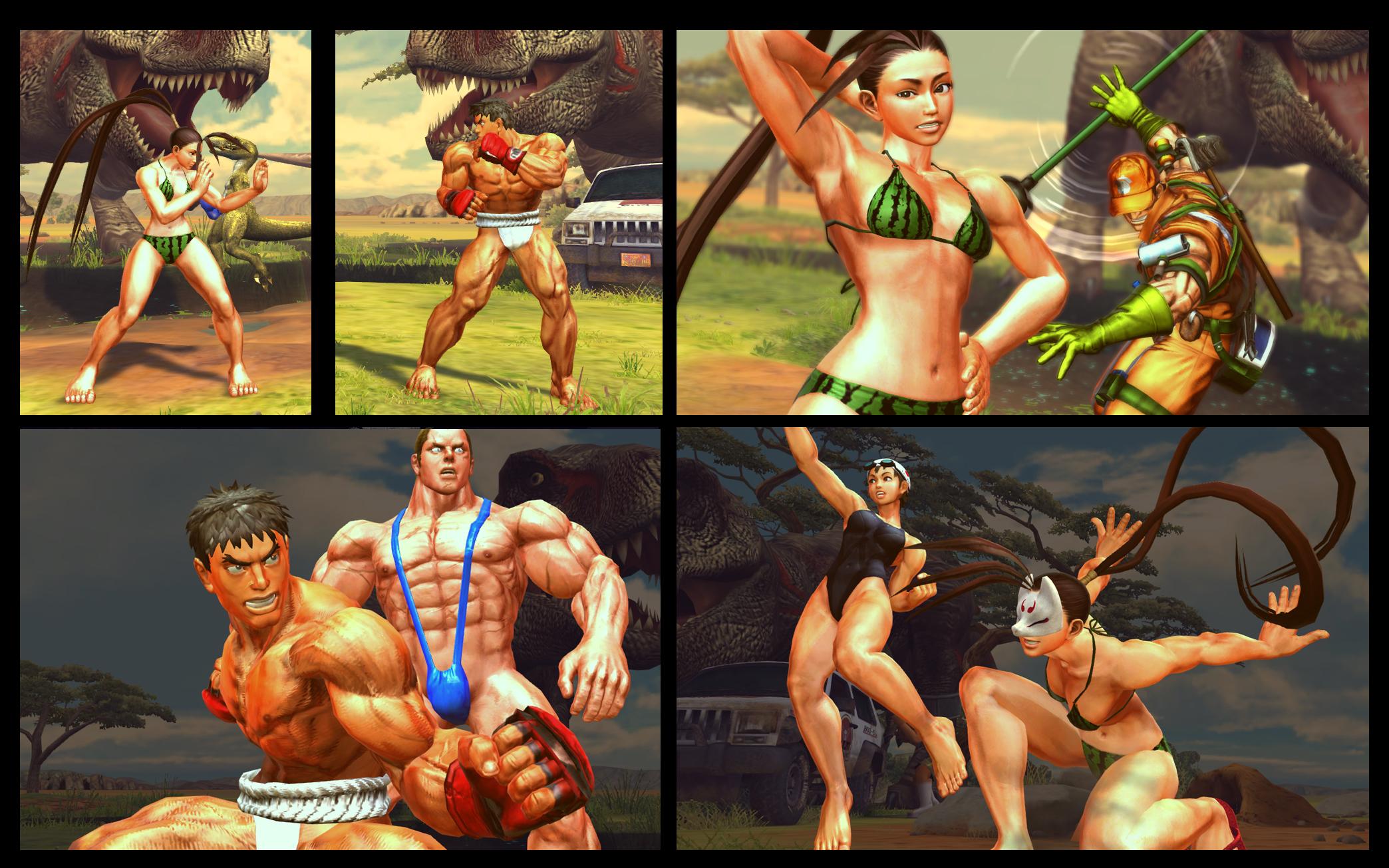 SF X TEKKEN Addtion Tropico  Pack by monkeygigabuster