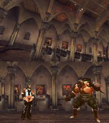 SF X TEKKEN Cathedral