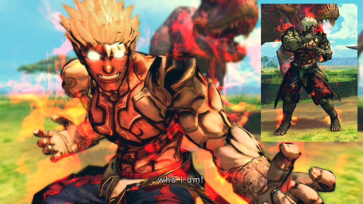 USFIV Evil Ryu as Asura Vol 3 by monkeygigabuster