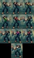 USFIV Dhalsim Yoga Gym Instructor 10 color pack