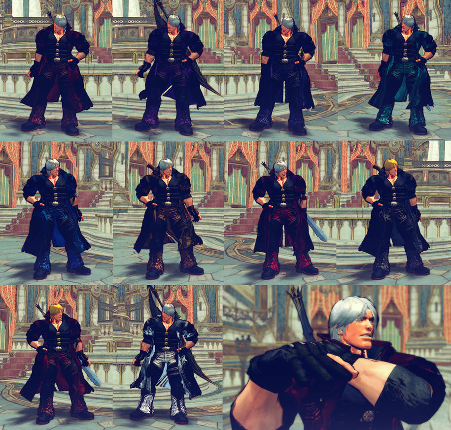 USFIV Ken as Dante from DMC 4 by monkeygigabuster