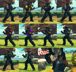 USFIV Afro Deejay 10 color pack