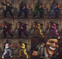 USFIV Balrog the Bank Robber 10 color pack