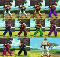 USFIV Street Fighter 1 Ryu