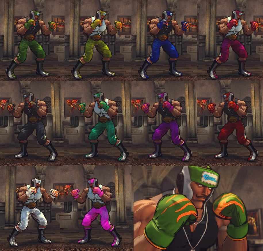 USFIV Dudley  Cross Counter Gear by monkeygigabuster