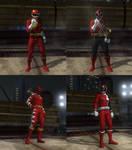 DOA5LR Super Sentai Red Ranger mod pack