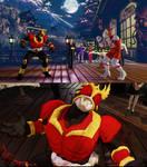 SFV Necalli as Kamen Rider Kuuga