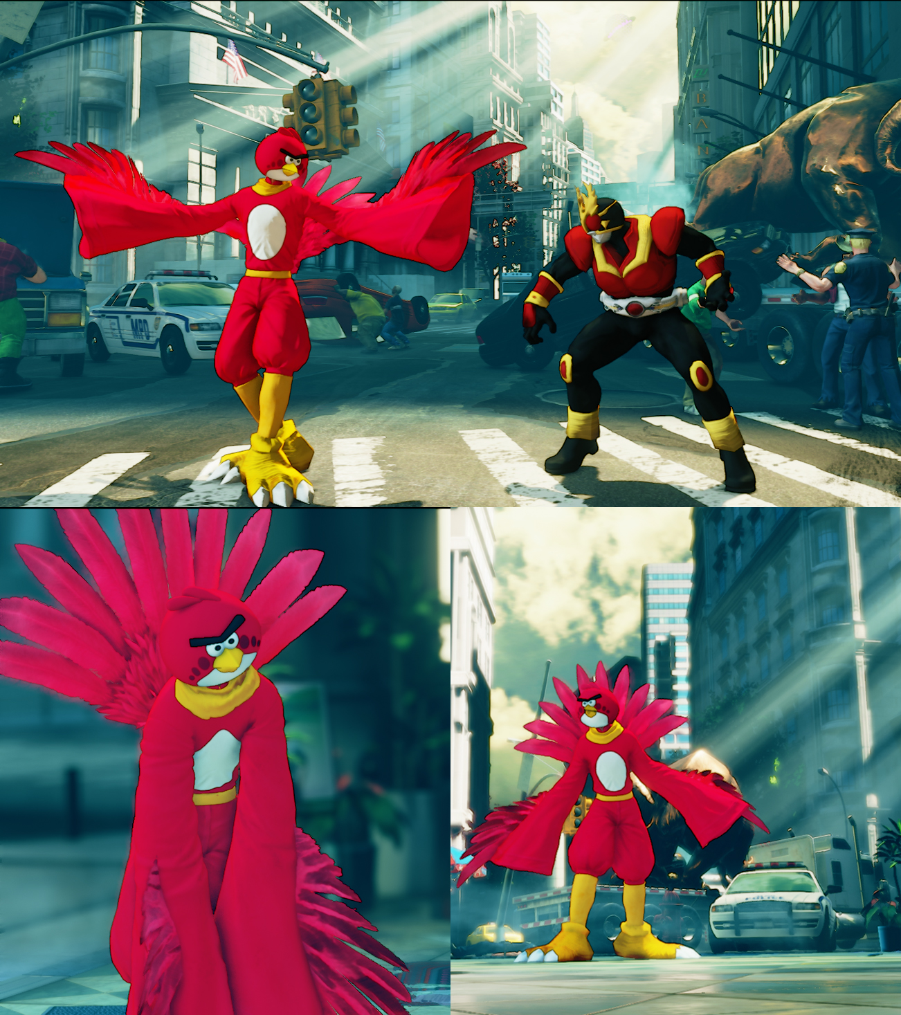 SFV  F.A.N.G as Angry Bird (Update Oct-9th-2019)