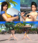 DOA5LR Mai Shiranui new bikini pack