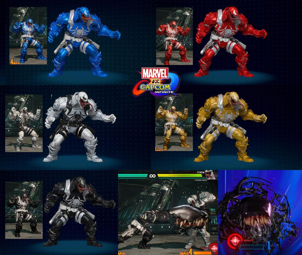 MVCI mod Armor Venom (Update 26/1/2018) by monkeygigabuster