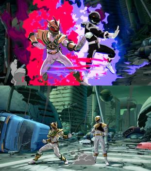 DBFZ Lord Drakkon and Black Ranger mod by monkeygigabuster