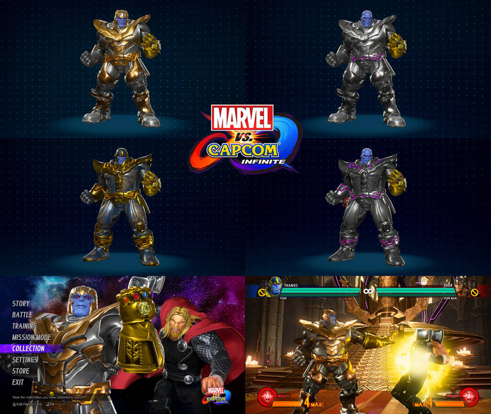 MVCI mod Infinity War Thanos (Update 6/4/2018) by