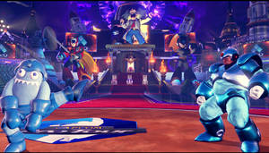 SFVAE Ring of Wily Stage mod