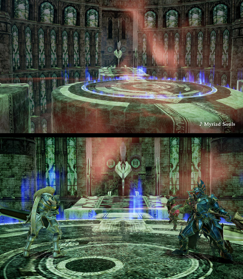 SCVI stage mod Hall Of Chaos by monkeygigabuster