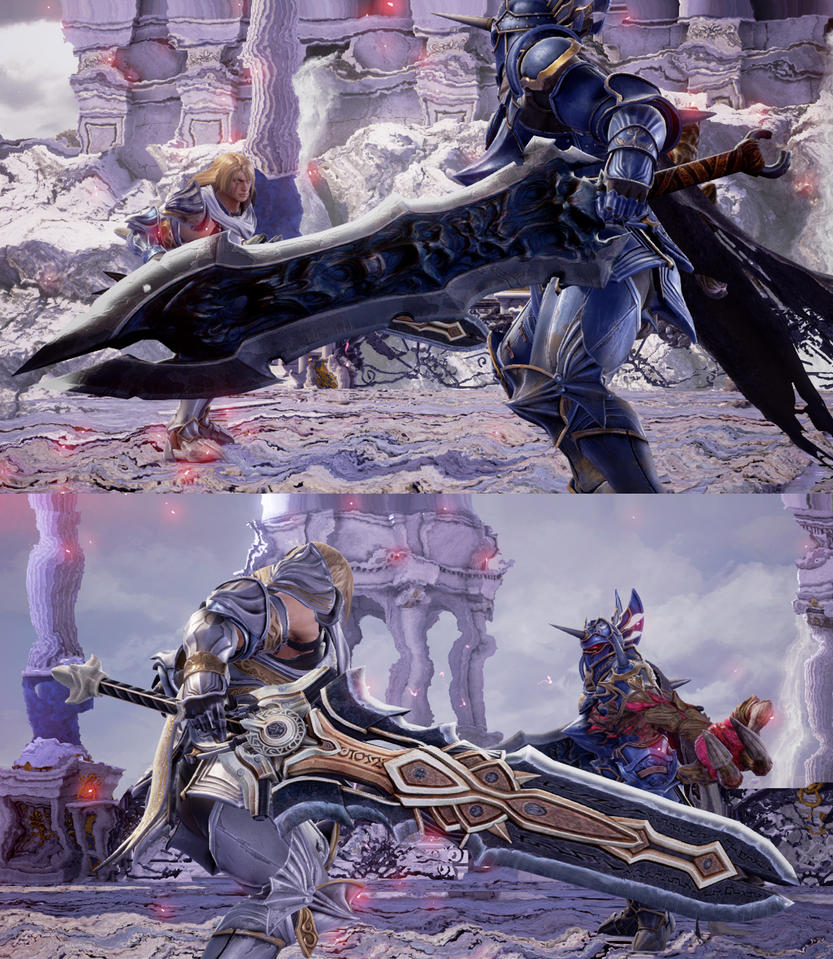 SCVI weapon mod Chaos Eater and Armageddon sword by monkeygigabuster