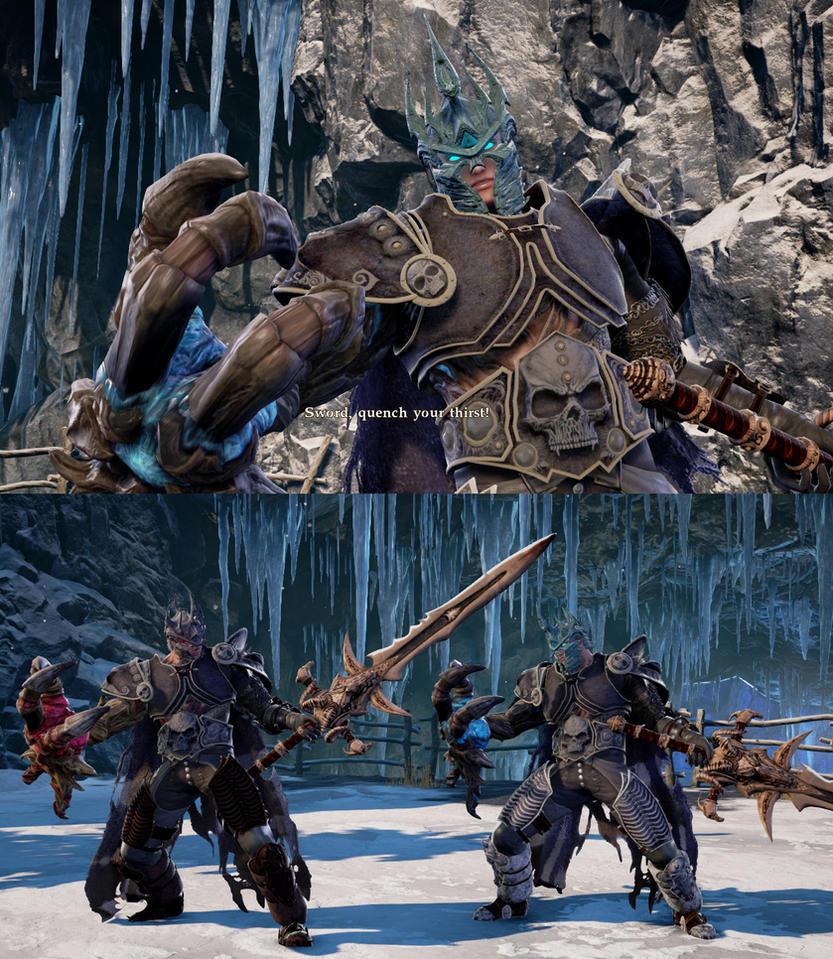 SCVI mod Lich King armor  for Nightmare by monkeygigabuster
