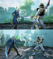 SCVI weapon mod Force Edge+ Yamato for Geralt by monkeygigabuster