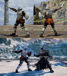 SCVI CAS mod Goblin Slayer Armor+Weapon by monkeygigabuster