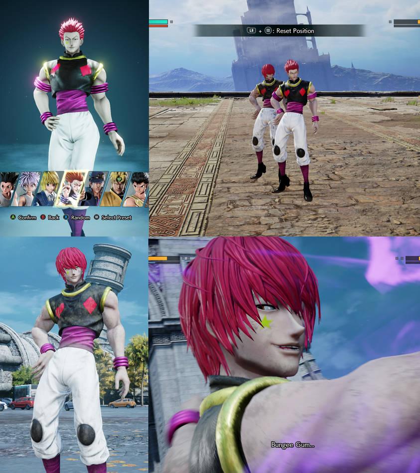 Jump Force mod Heaven Arena Arc Hisoka