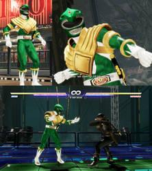 Dead or Alive 6 mod Diego  as Green Ranger by monkeygigabuster
